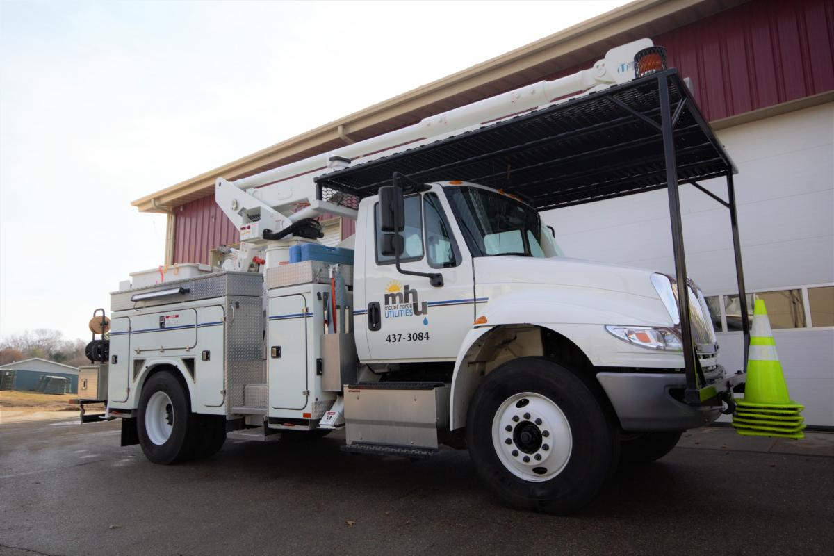 Mount Horeb Utilities Bucket Truck